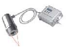 Infrarotsensoren Optris Präzisions Pyrometer Serie CTL CTlaser mit Ziellaservisier mit Anzeige und Schnittstellen
