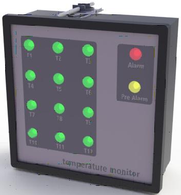 Optris Pyrometer Temperaturalarmüberwachung