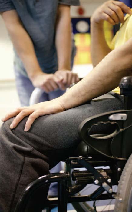 XSensor Sensormatten für Sitz- und Rückenflächen eines Rollstuhles
