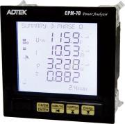 Präzises Panel-Powermeter ADTEK CPM-70 für Einphasen- und Dreiphasenstromkreise