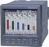YOKOGAWA FX100, Papierloser Einbauschreiber / Bildschirmschreiber