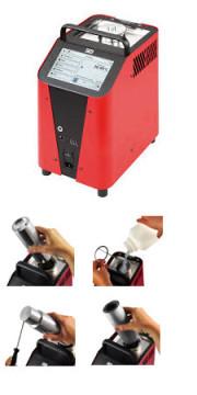 TP 3M165E.2, Temperaturkalibrator / Trockenblock-Temperaturkalibrator / Mikrobad-Temperaturkalibrator / Infrarot-Temperaturkalibrator / Oberflächen-Temperaturkalibrator. -35°C ... +165°C