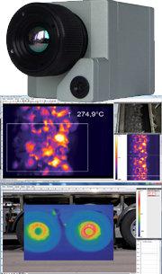Infrarot-Kamera Optris PI200/230, mit Echtbild erweiterte Version der PI160