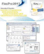 FlexPro 2017: Offline-Software zur Visualisierung, Analyse, Auswertung und Dokumentation von (Mess-) Daten