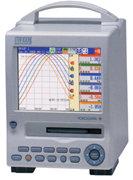 YOKOGAWA MobileCorder MV100, Mobiler Papierloser Schreiber / Datenlogger mit Farb-Display