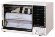 YOKOGAWA LR8100E, Universeller Mehrkanal Linienschreiber / Laborschreiber / Kassettenschreiber / Y-t Schreiber