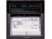 YOKOGAWA uR1000, Papier-Einbauschreiber mit 1 bis 6 Kanälen