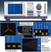 Poweranalyzer PZ4000 für schnell sich ändernde Leistungs-Signale